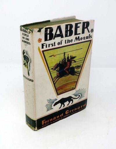 New York: Robert M. McBride & Company, 1930. 1st edition. Hardcover. Map eps. Dust jacket. VG/VG (so...