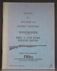 Sequence of Take-Down and Assembly Operations Winchester Model 12 Slide Action Repeating Shotgun