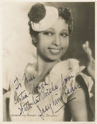 image of Zouzou (Original press portrait photograph of Josephine Baker from the 1934 film, inscribed)