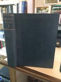 image of Amateur Work, Illustrated: Volume II