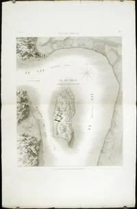 Plan de Philae. Plan General de l'Ile et de ses Environs. by PHILAE) Jollois et al (del). Baltard (sculpt) - No date. Ca. 1820. - from oldimprints.com and Biblio.com