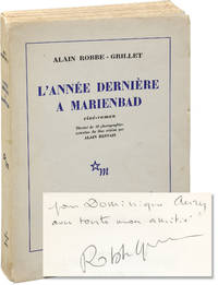 image of L'Annee Derniere en Marienbad [Last Year at Marienbad] (First Edition, inscribed by Alain Robbe-Grillet)