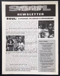 SOUL: School of Unity and Liberation Newsletter