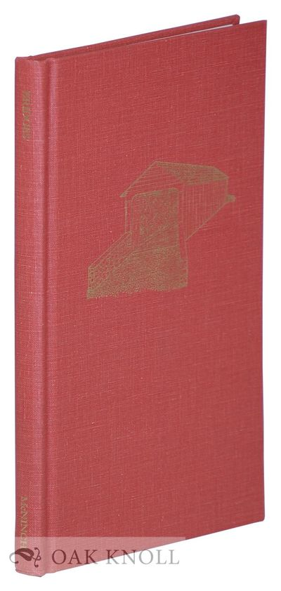 Wilmington: The Cedar Tree Press, 1995. cloth. 8vo. cloth. xiv, 105+(1) pages. First edition, second...