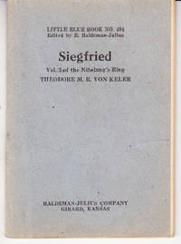 Siegfried: Volume 3 of the Nibelung's Ring
