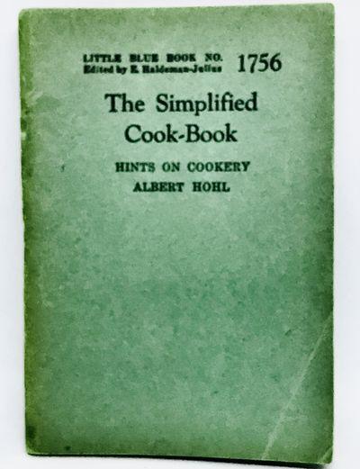 Girard, Kansas: Haldeman-Julius Publications, 1930. Staplebound wraps. Blue wraps. Good. 4 1/2 x 3 i...