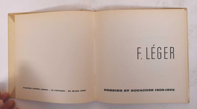 Paris: Galerie Louise Leiris, 1958. Softcover. VG, clean and tight. Some sunning to spine.. Small, s...