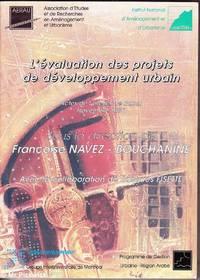 L'Evaluation des Projets de Developpement Urbain
