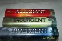 Divergent, Insurgent, Allegiant Trylogy