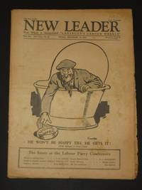 The New Leader Incorporating 'The Labour Leader': September 30th 1927