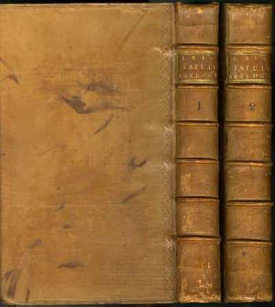 London: WEdward Sayer, 1739. First Edition. Hardcover (Full Leather). Very Good Condition. Two volum...