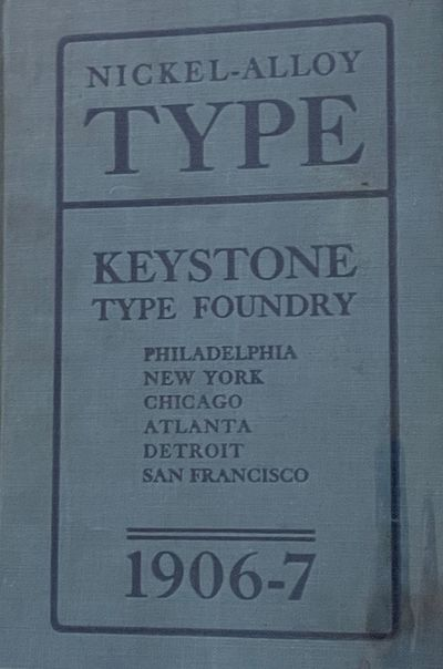 623 pp. expansive volume on American typefaces produced by the San Francisco outpost of the noted Ke...