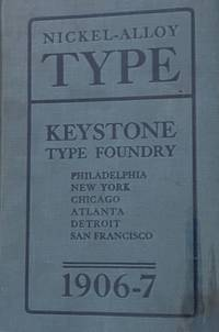 Abridged Specimen Book: Type. Nickel-Alloy on Universal Line, Comprising a Price List of Types, Borders, Leads and Slugs, Brass Rule, Brass Galleys, Miscellaneous Cuts and General Supplies for Printers