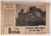 image of The Bond: The servicemen's newspaper. Vol. 1 no. 4 (Aug. 4, 1967)