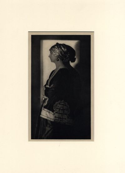 De Meyer, Baron Adolph. Hand-pulled photogravure, 9 3/8 x 5 3/8 inches. Archivally matted with windo...