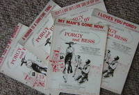 Five PORGY AND BESS Singles for piano and voice, Samuel Godwyn Production.