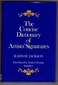 The Concise Dictionary of Artists' Signatures