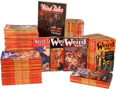 Indianapolis / New York / London: Popular Fiction Publishing Company / Weird Tales / William C. Merr...