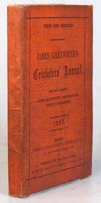 """James Lillywhite's Cricketers' Annual for 1887. With which is incorporated """"James..."""