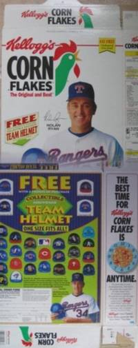Nolan Ryan - Cereal Box - Kellogg's Corn Flakes