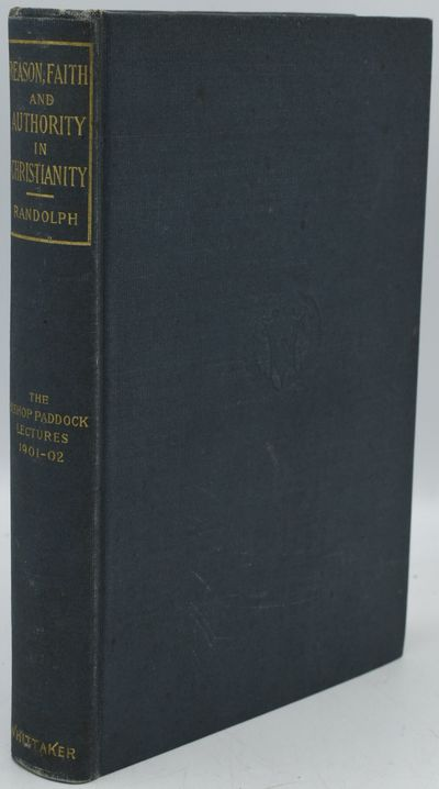 New York: Thomas Whittaker, 1902. First Edition. Hard Cover. Very Good binding. EX-LIBRARY. First Ed...