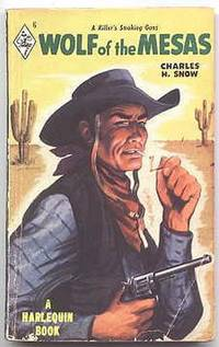 image of WOLF OF THE MESAS.  HARLEQUIN NO. 6.