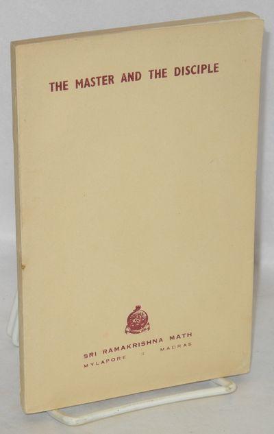 Mylapore, Madras: Sri Ramakrishna Math, 1967. Paperback. iv+138p., 4.75x7.25 inches, wraps, mild soi...