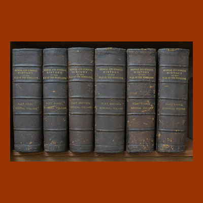 Barnes, Joseph K., ed. THE MEDICAL AND SURGICAL HISTORY OF THE WAR OF THE REBELLION (1861-1865). Was...