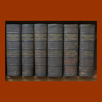 The Medical and Surgical History of the War of the Rebellion (1861-1865) 6 volumes