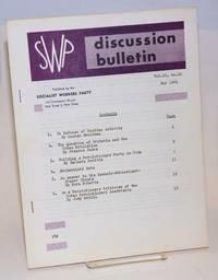 SWP discussion bulletin, vol. 22, no. 10 (May, 1961)