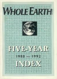 image of Whole Earth Review: Five-Year Index 1988-1992