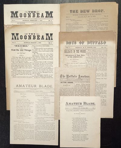 Archival group of Amateur Newspapers,...