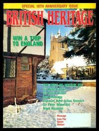 image of BRITISH HERITAGE - Volume 11, number 1 - December January 1989 1990