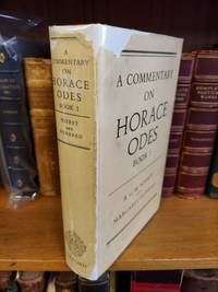 A COMMENTARY ON HORACE: ODES BOOK 1