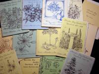 1979- 1990 Collection of Year Books & Ephemera of the Moriches Bay Garden Club, Center Moriches, Long Island N.Y.
