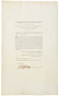 Congress of the United States: at the second session begun and held at the City of New-York ... An Act to prescribe the Mode in which public Acts, Records and judicial proceedings in each state, shall be authenticated so as to take effect in every other state