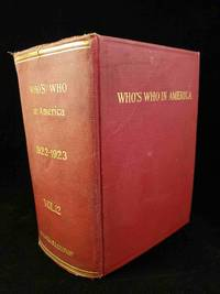 Who's Who in America 1922-1923. Volume 12