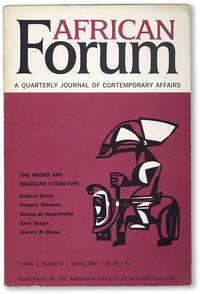 African Forum: A Quarterly Journal of Contemporary Affairs - Vol.2, No.4 (Spring, 1967)