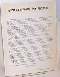 image of Support the Vietnamese 7 point peace plan [handbill]