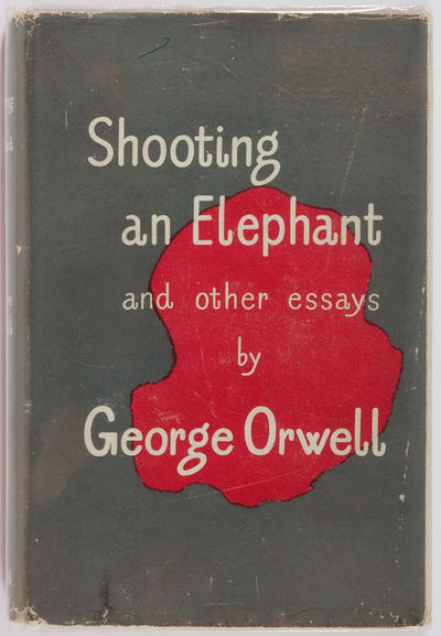 shooting an elephant 50 essays Shooting an elephant is an essay by english writer george orwell, first published in the literary magazine new writing in late 1936 and broadcast by the bbc home service .