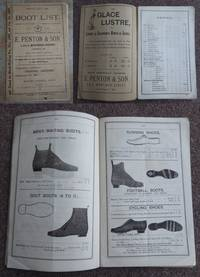 BOOT & SHOE LIST. CATALOGUE OF BOOTS AND SHOES.