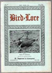 image of 1928 May - June Issue of Bird-Lore : a Bi-Monthly Magazine Devoted to the  Study and Protection of Birds