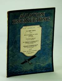 Aviation Engineering (Magazine) - The Technical Journal of the Aeronautical Industry, September (Sept.) 1930 -  Experiments on the Burnelli All-Wing Principle