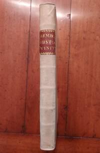 Della Historia Vinitiana (Libri XII) by  Pietro Bembo - First - 1552 - from Setton Book Collection (SKU: 91)