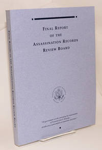 image of Final Report of the Assassination Records Review Board