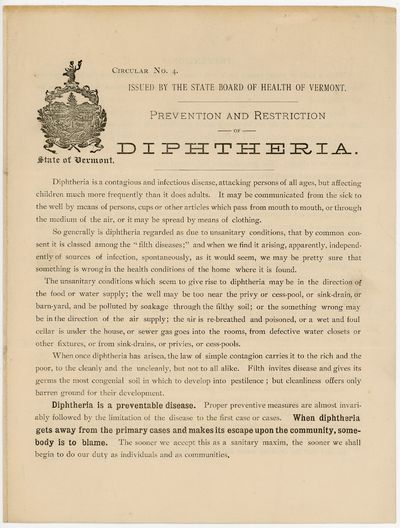 Circular No. 4. Issued by the State...