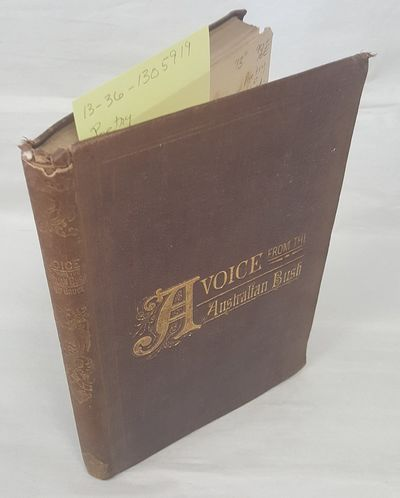 Adelaide: Frearson & Bro, 1877. Hardcover. Octavo; G/no DJ; Hardcover w/out DJ; Spine, brown with go...