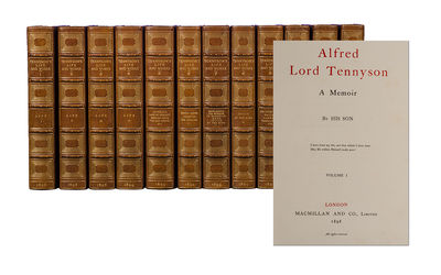 London: Macmillan and Co, 1899. Edition de Luxe., one of 1,050 sets. Twelve octavo volumes (8 9/16 x...