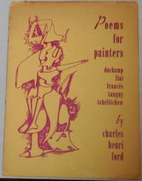 Poems For Painters Duchamp, Fini, Frances, Tanguy, Tchelitchew