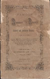 The Famous Summer Resorts of Central and Southern Berkshire by  Publishers] [J. A. Chickering & William Mink - Paperback - 1875 - from Americana Books ABAA and Biblio.com